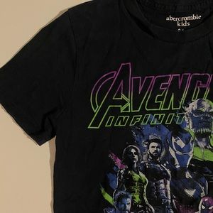 Abercrombie Kids Avengers Graphic Tee Size 9/10
